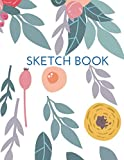 Sketch Book: Sketchbook a Large Journal with Blank Paper for Drawing | 121 Pages, 8.5x11 | Notebook Blank Sheets V.04 (8.5 x 11 Sketchbook Idea)