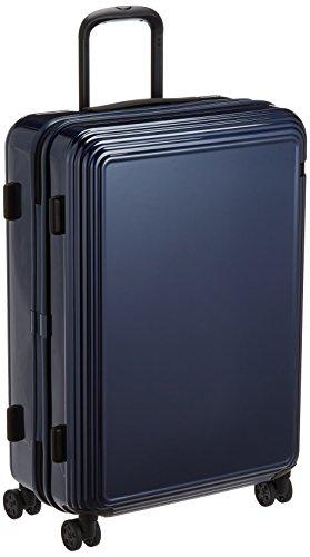 [エース] スーツケース リップルZ ワイヤーコード キャスターストッパー 67L 62cm 4.4kg 06242 03 ネイビー