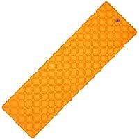 エアバッグインフレータブルクッション屋外テントパッドシングルエッグシェル防湿クッションエアマットレスパッドキャンプクッションポータブルエアマットレスブルー/オレンジ188X57X4.5cm (色 : Orange)