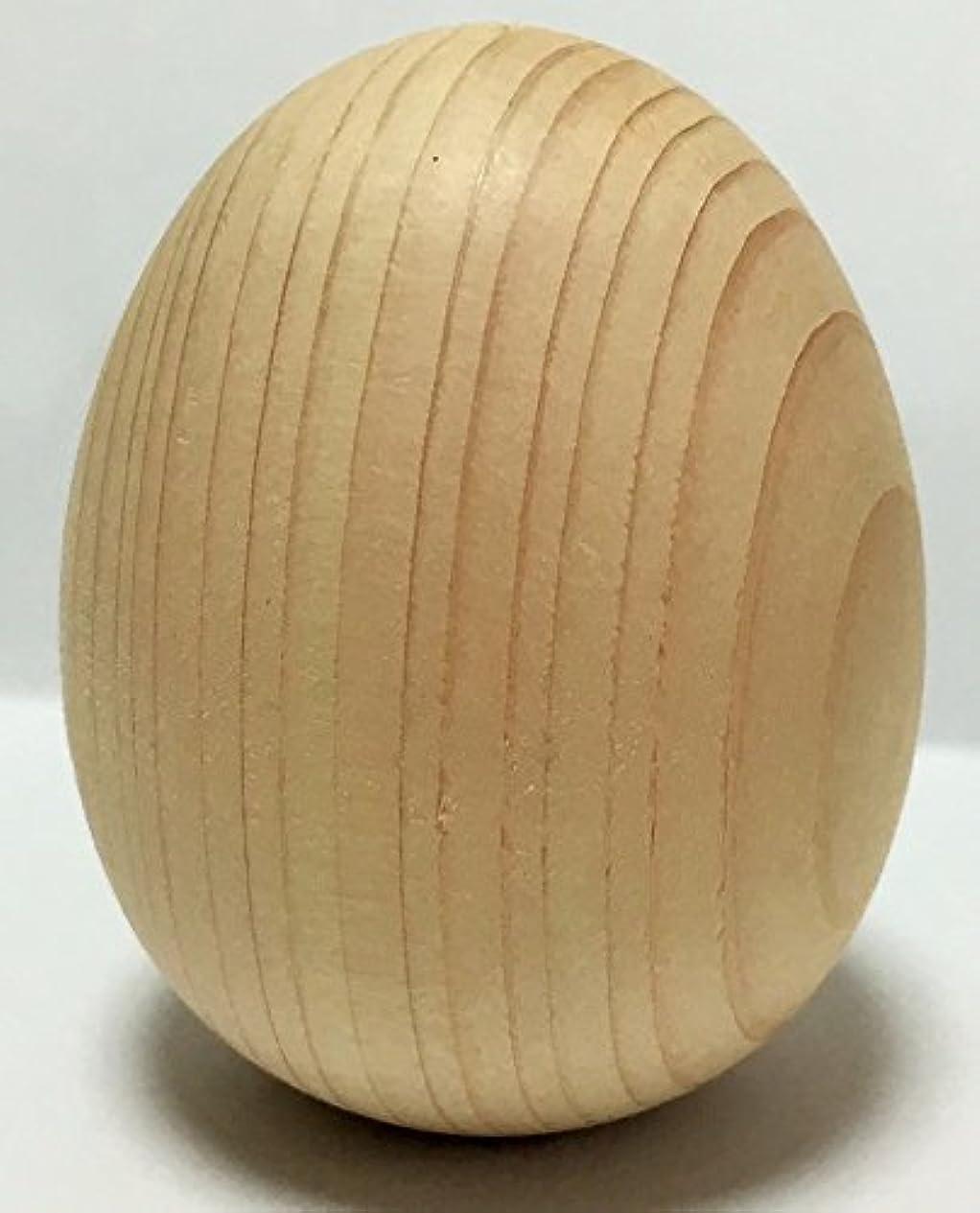 ジャーナルふりをするオフェンス1個から購入できる!卵型ヒノキボール タマゴ型 檜ボール 桧ボール ひのきボール 玉