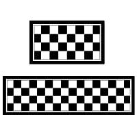 WENZHE キッチンマット 台所 カーペットトレッド パッド 滑り止め ストリップ 吸収性 ホーム ベッドルーム フットパッド 簡単に清掃する 多用途、 厚さ6mm、 3つのスタイル、 サイズ 組み合わせ可能 (色 : B, サイズ さいず : 50x80+50x160cm)