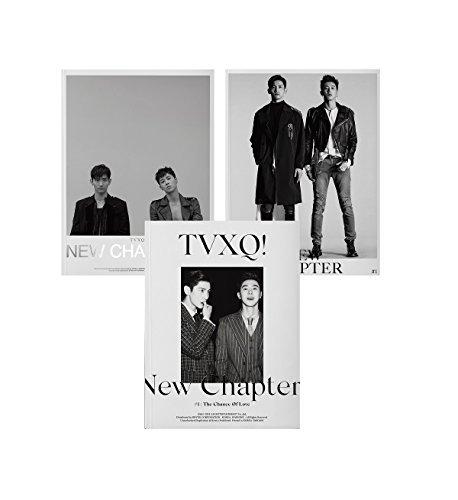 東方神起 - New Chapter #1 : The Chance of Love (Vol.8) CD+Booklet+Folded Poster [韓国盤]