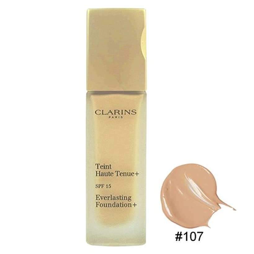 乳製品貫通提案するクラランス CLARINS エヴァーラスティング ファンデーション + #107 [並行輸入品]