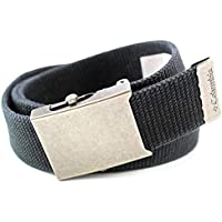 Columbia Men's 38mm Cotton Washed Webbing,Black,One Size