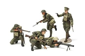 タミヤ 1/35 ミリタリーミニチュアシリーズ No.339 イギリス陸軍 歩兵セット プラモデル 35339