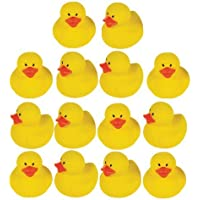 Mini Rubber Ducks 18ct [並行輸入品]