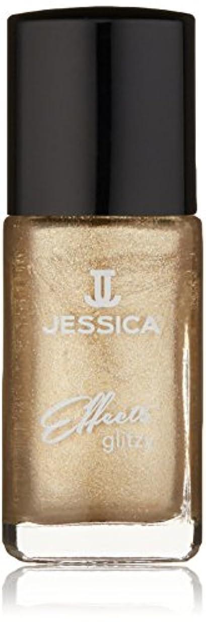 大胆なチラチラする特別なJessica Effects Nail Lacquer - Gilded Beauty - 15ml / 0.5oz