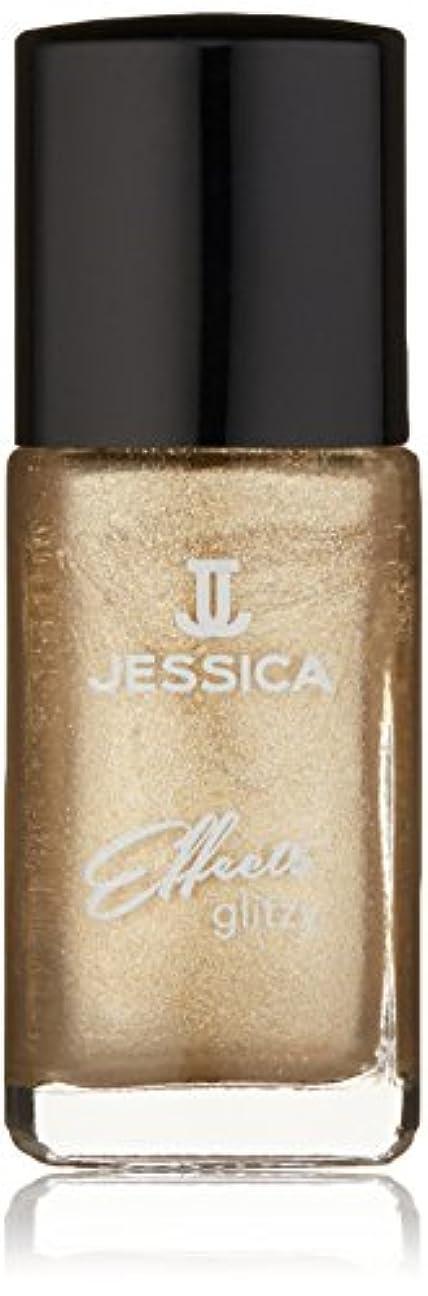 クリーナー東赤Jessica Effects Nail Lacquer - Gilded Beauty - 15ml / 0.5oz