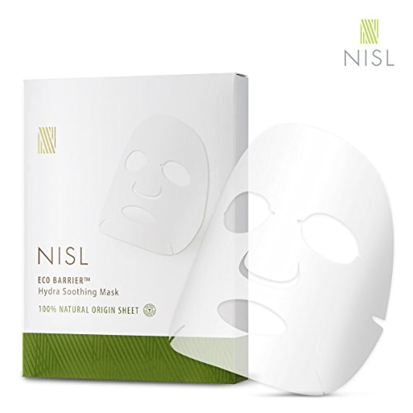 シャワー結果として大混乱【NISL】ナチュラルエコバリアハイドラスージングマスクセット(5p / 23ml) フェイスパック シートマスク フェイスマスク 韓国コスメ