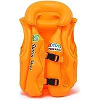 Beuway(ビーユーウェー) ライフジャケット 子供 大人用 フローティングベスト 強い浮力 高い負荷力 安全安心 救命胴衣 スノーケリングベスト マリンスポーツ ジュニア 海 プール 釣り 海水浴 スイミング 水遊び 漂流