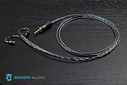 ハイエンドサウンド 国内正規品 Song's Audio Universe Shure 交換用アップグレード・ケーブル UE900 SE535, SE425, SE315, SE215対応