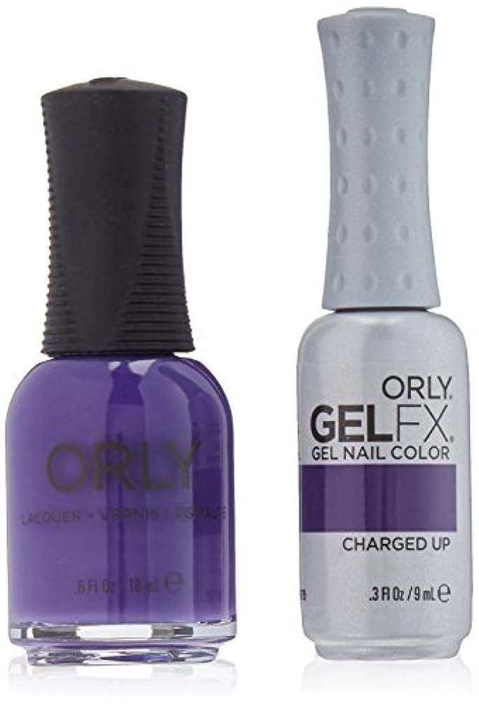 肥沃な処方するテザーOrly Nail Lacquer + Gel FX - Perfect Pair Matching DUO - Charged Up