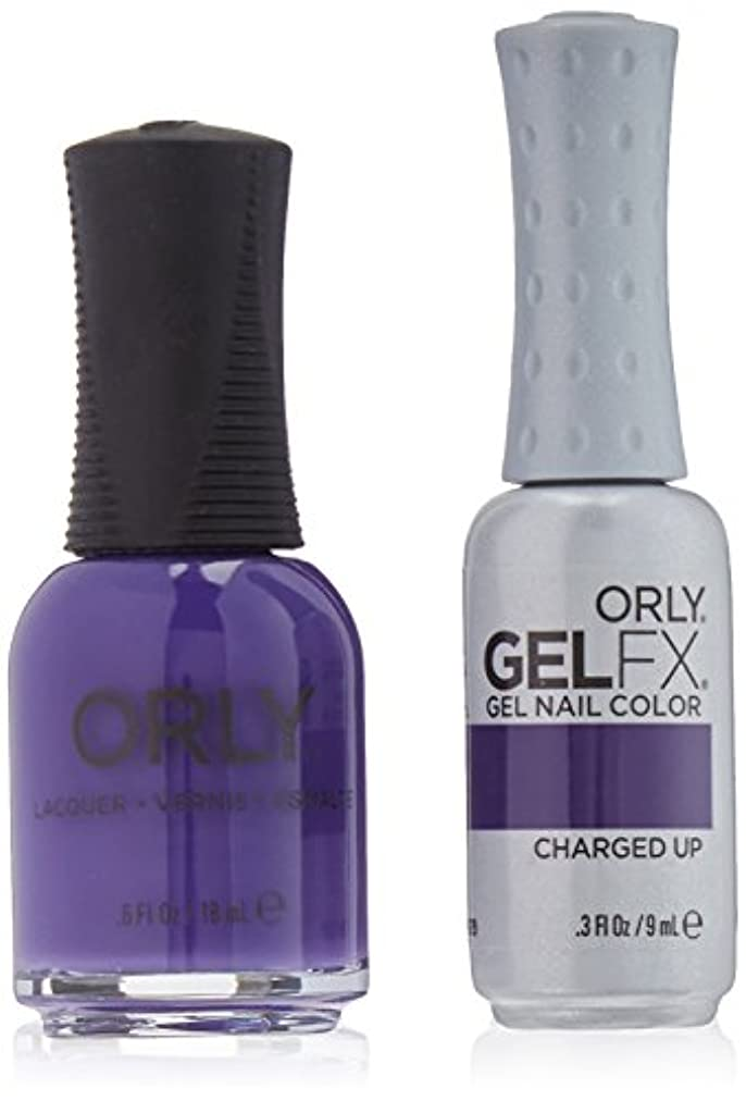 Orly Nail Lacquer + Gel FX - Perfect Pair Matching DUO - Charged Up