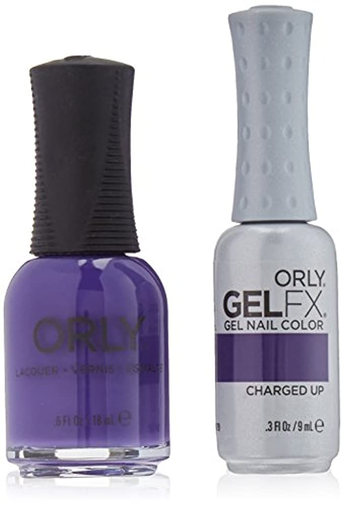 試験義務義務Orly Nail Lacquer + Gel FX - Perfect Pair Matching DUO - Charged Up
