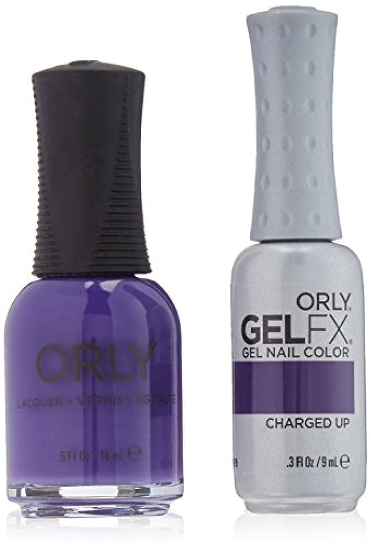 遠洋のスロベニア論理的Orly Nail Lacquer + Gel FX - Perfect Pair Matching DUO - Charged Up