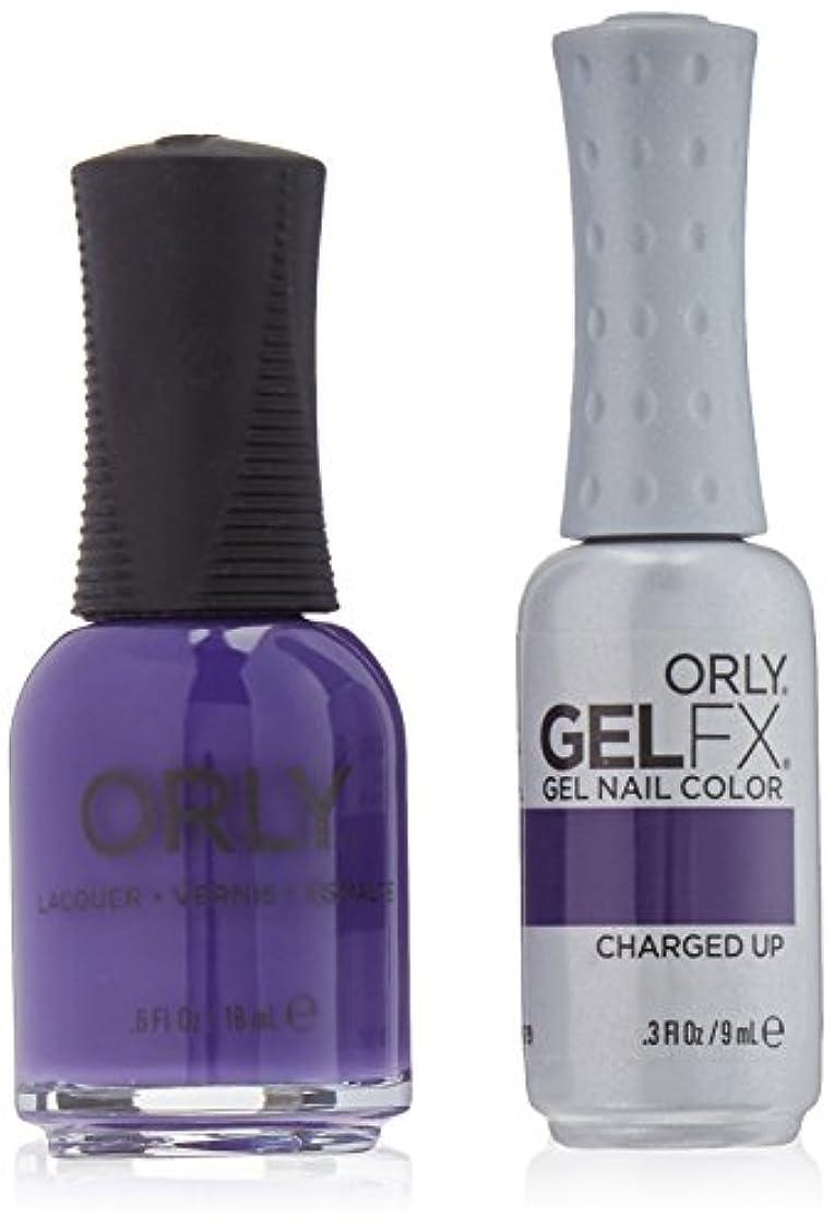 牧師スナック霜Orly Nail Lacquer + Gel FX - Perfect Pair Matching DUO - Charged Up