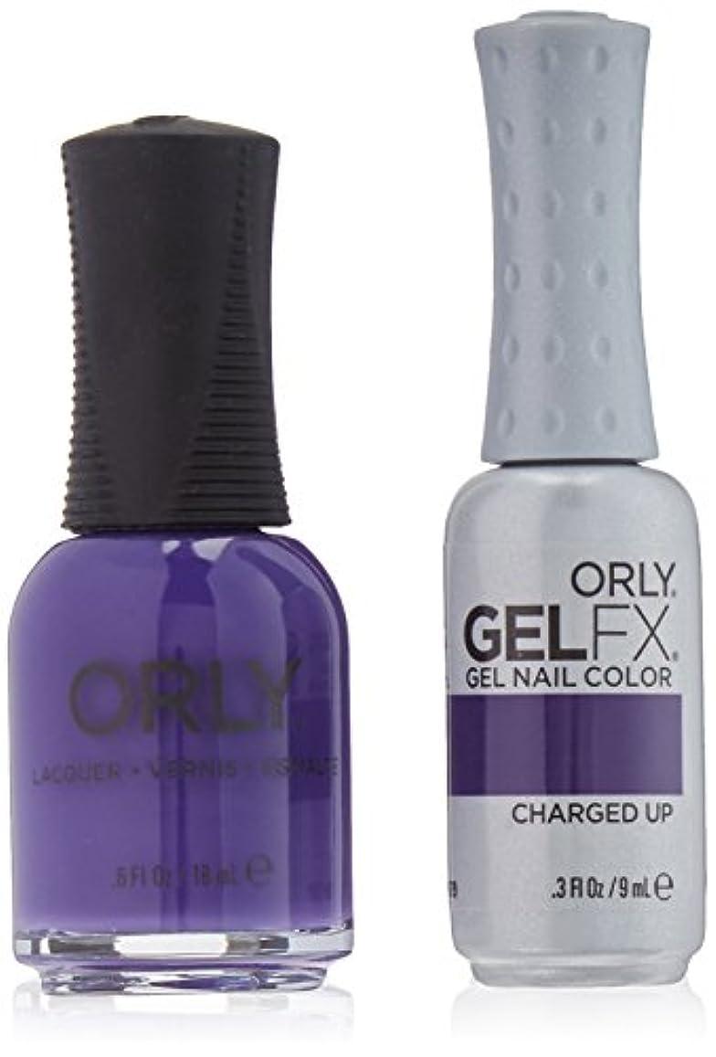 検証計器純粋にOrly Nail Lacquer + Gel FX - Perfect Pair Matching DUO - Charged Up