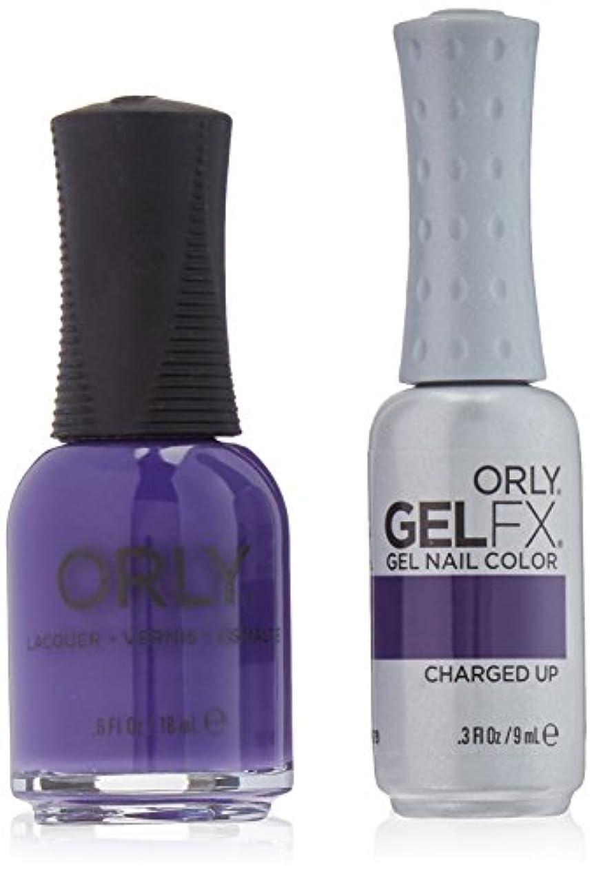 クリップ蝶蛇行公式Orly Nail Lacquer + Gel FX - Perfect Pair Matching DUO - Charged Up