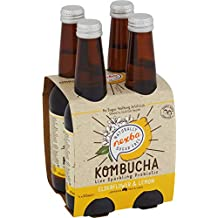 NEXBA ELDERFLOWER & Lemon Kombucha 330ML (24 Pack)