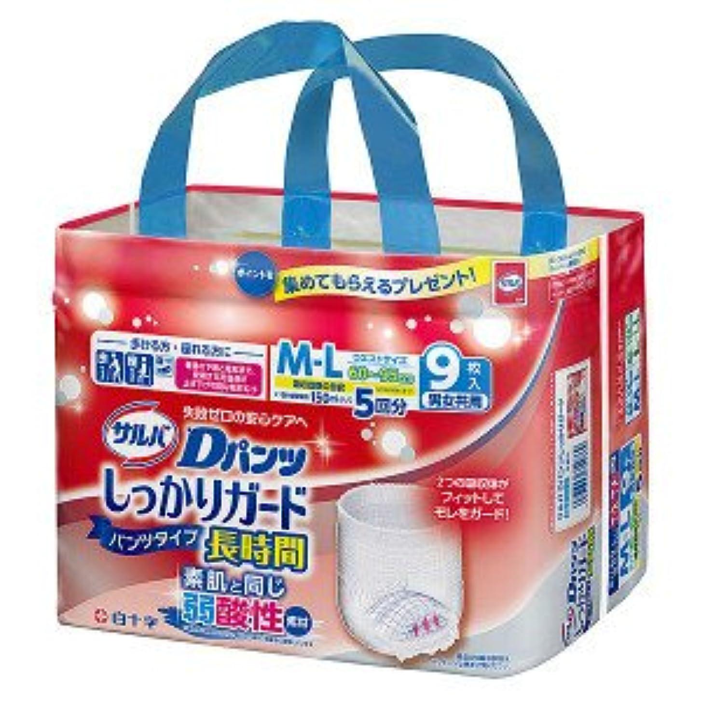 経歴不適切な冷凍庫白十字:サルバDパンツしっかりガード長時間L~LL男女共用8枚×6個入 35496