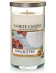 ヤンキーキャンドルメディアピラーキャンドル - シアバター - Yankee Candles Medium Pillar Candle - Shea Butter (Yankee Candles) [並行輸入品]