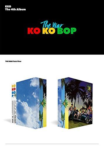 エクソ - The War (Vol.4) [KOREAN / Random Ver.] CD+Photobook+Photocard+Folded Poster+Free Gift [韓国盤]