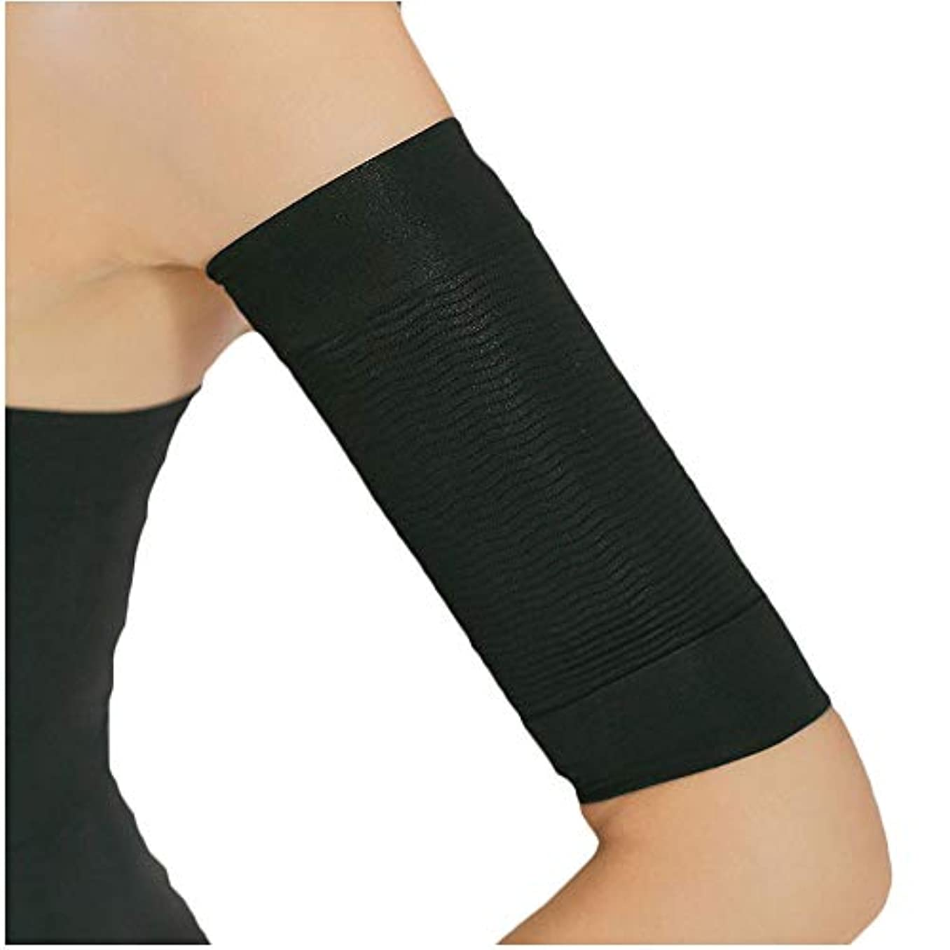 嵐の保証する体細胞NEOBODY 二の腕 シェイパー 腕 痩せ むくみ 対策 サポーター レディース ブラック