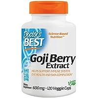 Doctor's BEST Goji Berry Extract コージーベリー クコの実エキス 枸杞子エキス (120カプセル) 海外直送品