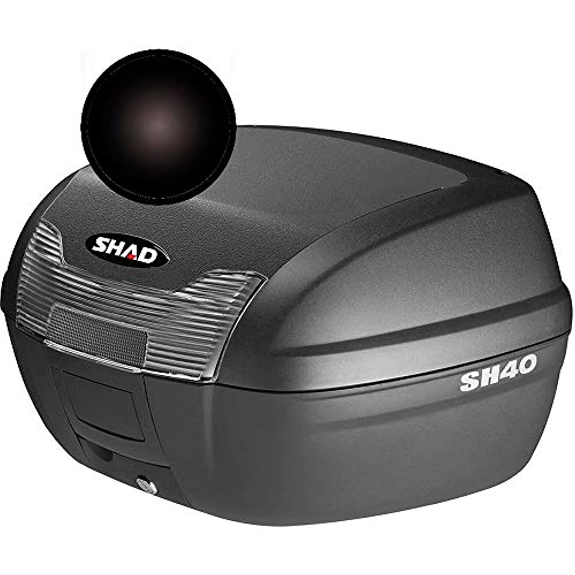 ジャーナリストそのようなバランスのとれたSHAD(シャッド) D1B40E21 SH40専用カラーパネル ブラックメタル 1枚
