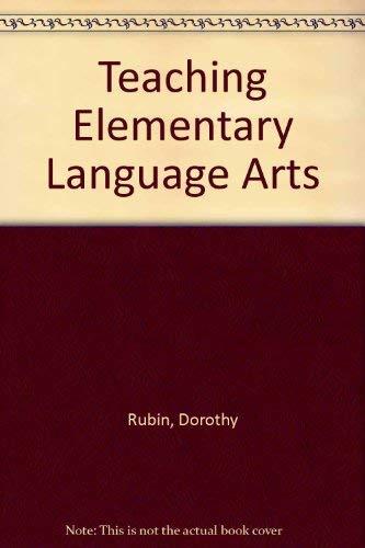 Download Teaching Elementary Language Arts 0138913676
