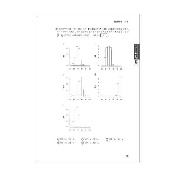 日本統計学会公式認定 統計検定 2級 公式問題...の紹介画像6