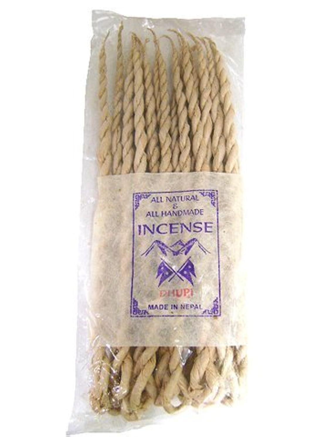 歴史家私たち自身フェデレーションNEPAL INCENSE 日本では当店でのみ販売 ネパールの高級ねじり香(ロープ) ドゥピ
