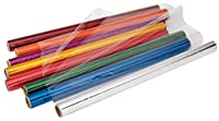 Becker's School Supplies Cellophane Rolls Set of 8 Colors (Pack of 8) [並行輸入品]