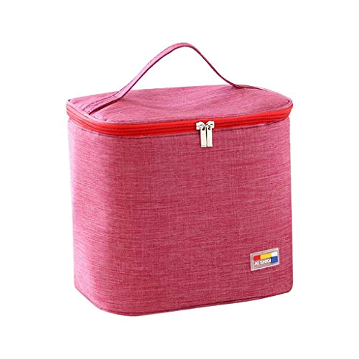 火曜日荒野同様の専用ランチバッグトートバッグ断熱性を向上キャンプに適していますシンプルなバッグイージーファッション絶縁バッグ冷蔵バッグポケットを描く冷却ハンドバッグ防水ハンドバッグ (A)