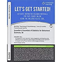 MindTap Psychology 1 term (6 months) Printed Access Card for Gravetter/Wallnau/Forzano's Essentials of Statistics for the Behavioral Sciences 9th (MindTap Course List)【洋書】 [並行輸入品]