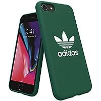 【アディダス公式ライセンスショップ】アディダスオリジナルス iPhone6/6S/7/8ケース アディカラーシリーズ TPUケース グリーン [adicolor Snap Case iPhone 6/6S/7/8 green]