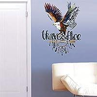 レンコス(Lemcos) ウォールステッカー インテリア 3D壁紙 壁紙 鷹模様 子供部屋 シール ドアシール 安心 立体 壁紙シート リフォーム 飾り 部屋飾り 居間・部屋・オフィス 壁の装飾 ステッカー