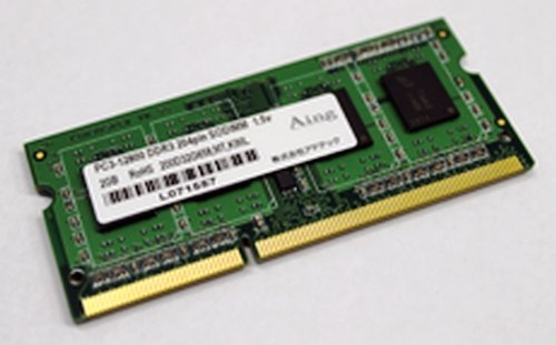 ADTEC ADS10600N-H4GW PC3-10600 204pin SO-DIMM 4Gx2枚組 省電力 ADS10600N-H4GW