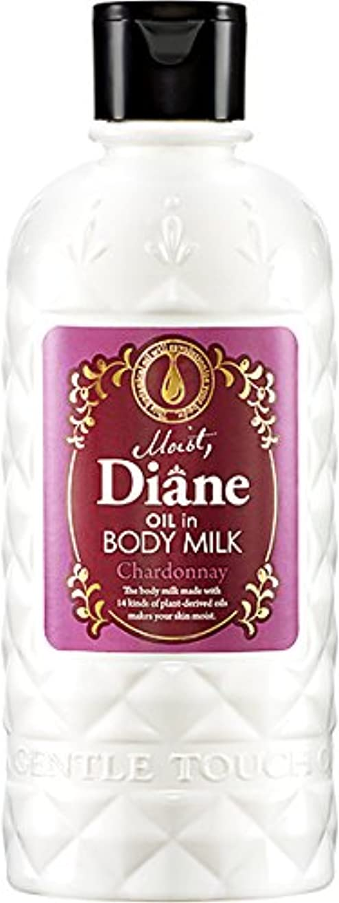 バス壁紙省略するモイスト?ダイアン オイルイン ボディミルク シャルドネの香り 250ml
