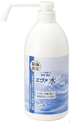 エヴァテック 除菌消臭エヴァ水 スプレーボトル 1L