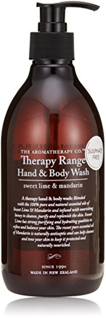 Therapy Range セラピーレンジ ハンド&ボディウォッシュ スイートライム&マンダリン