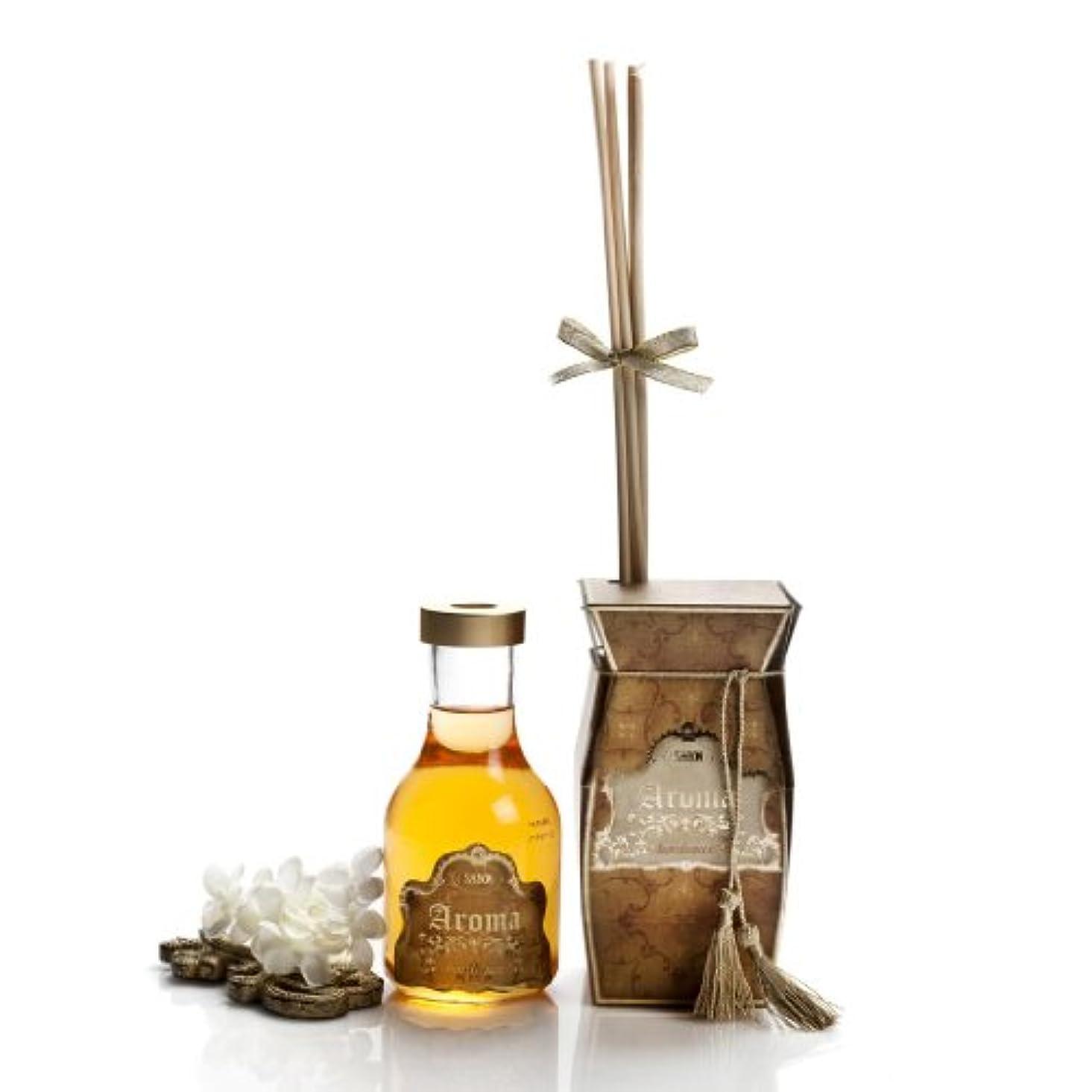 内陸人生を作るムスタチオサボン Aroma Reed Diffuser - Bordeaux (Patchouli) 250ml/8.8oz並行輸入品