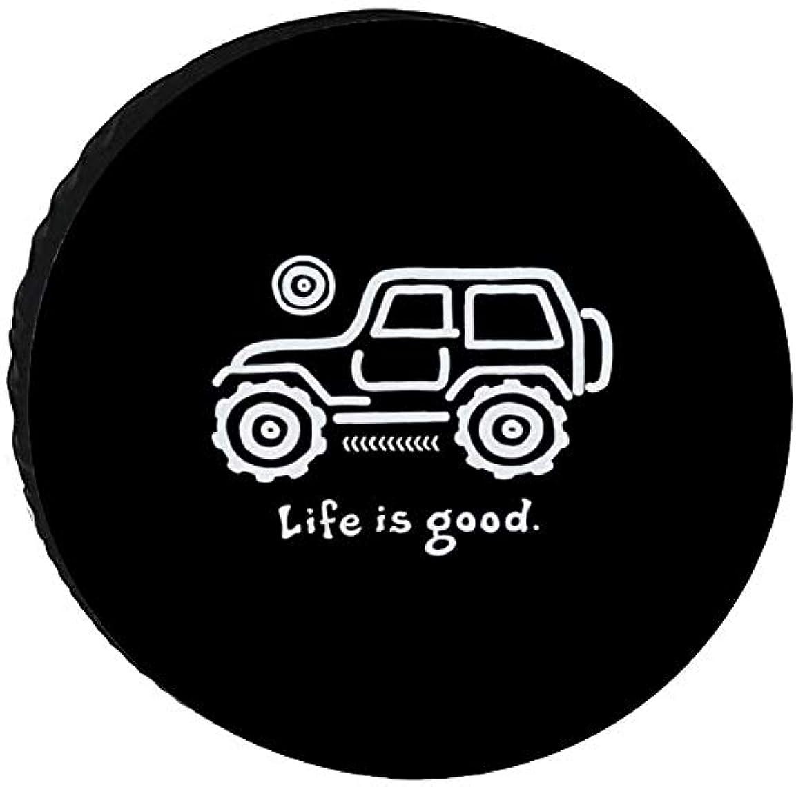 知っているに立ち寄る不可能な衰えるSUVタイヤカバー タイヤ 収納 屋外自動車 RV タイヤ 保管 防水生地 カー用品 防紫外線 スペアタイヤカバー ジムニー タイヤカバー 完全防水 タイヤ カバー 背面 14インチ,15インチ,16インチ,17インチ タイヤ 保管カバー 4WD Jeep 001 black 15inch