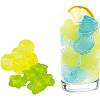 アイス ひんやり キューブ 20個セット(10P×2組)溶けない氷 繰り返し使用可能 飲み物が薄まりません カラフル