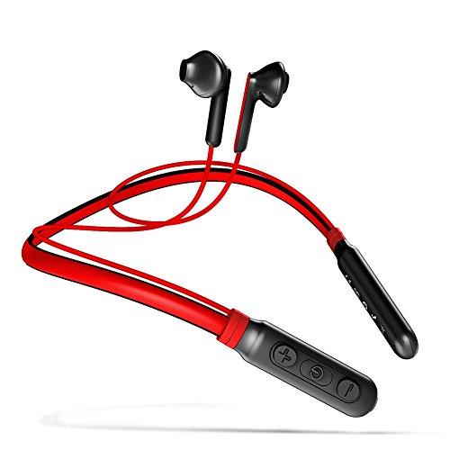 Bluetoothイヤホン ワイヤレスイヤホン ネックバンド型【 AAC上位コーデック対応 】Baseus Encok S16 IPX5 防水防滴仕様 カナル型 ブルートゥースイヤホン 高音質 重低音スポーツイヤホン 超軽量 マグネット搭載 iPhone&Android スマートフォン対応 通勤・通学に最適ステレオイヤホン (レッド)