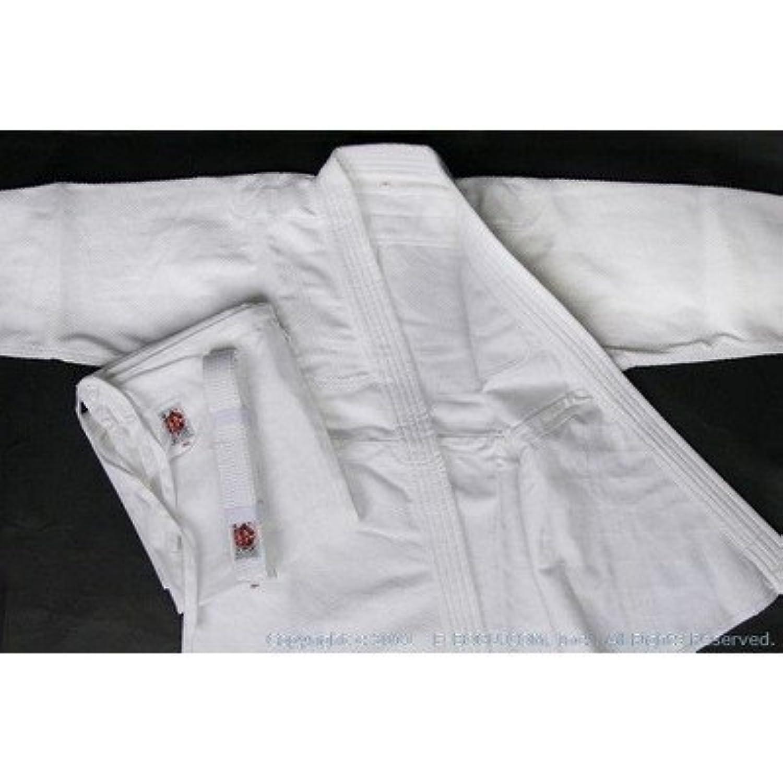 E-BOGU 高級450G合気道衣セット(白晒) サイズ000~3