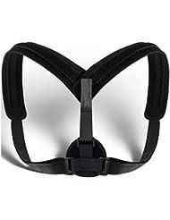 Unisex Posture Corrector Lumbar Lower Back Support Shoulder Brace Pain Relief AU Back Posture Corrector