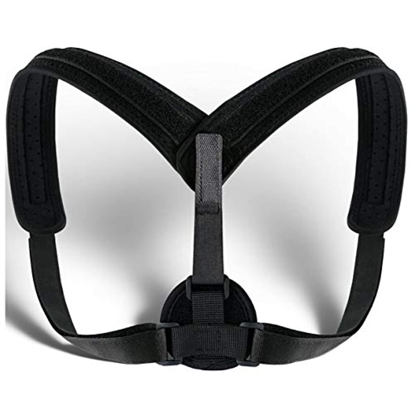 参照しっとり五月Unisex Posture Corrector Lumbar Lower Back Support Shoulder Brace Pain Relief AU Back Posture Corrector