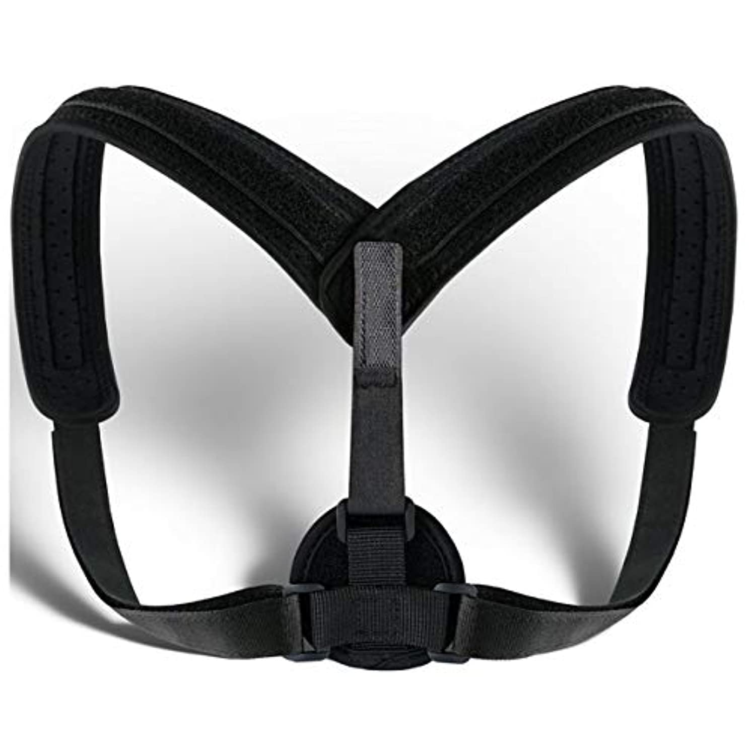 開拓者人事雪だるまを作るUnisex Posture Corrector Lumbar Lower Back Support Shoulder Brace Pain Relief AU Back Posture Corrector