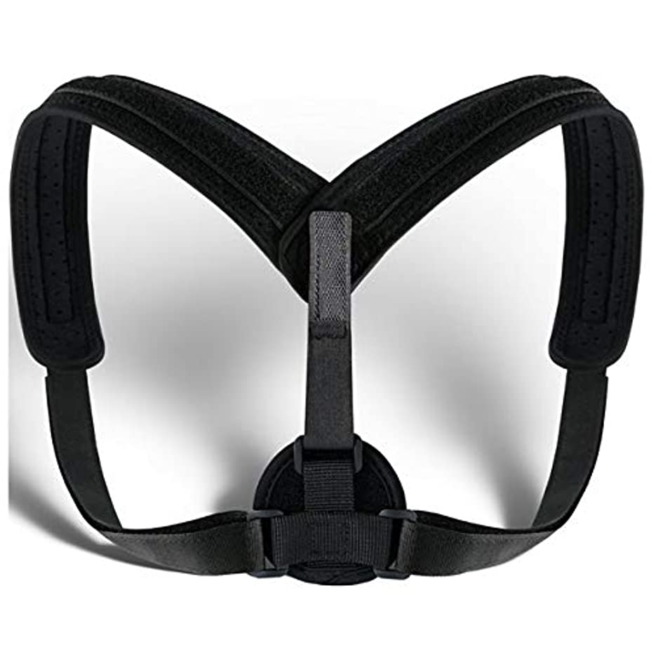 鑑定天井大きさUnisex Posture Corrector Lumbar Lower Back Support Shoulder Brace Pain Relief AU Back Posture Corrector
